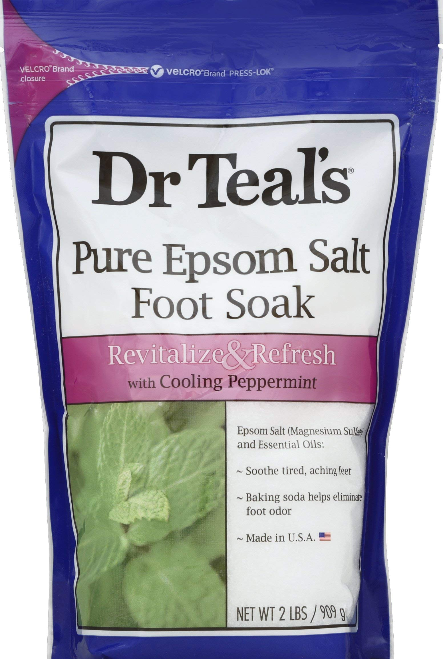 Dr. Teal's Theraupetic Peppermint Foot Soak(Pack of 2) by Dr Teal's