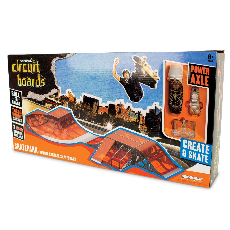 HEXBUG Tony Hawk Circuit Board by Skatepark: Amazon.es: Juguetes y juegos