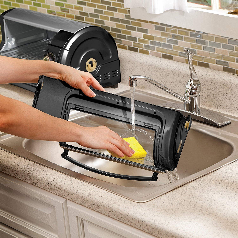 Hamilton Beach Easy Reach Toaster Oven Pizza Maker Electric (Black & Silver Best Value) by Hamilton Beach (Image #4)