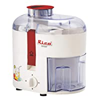 Rico Electric Juicer for Fruits and Vegetables with Japanese Technology, 350 Watt