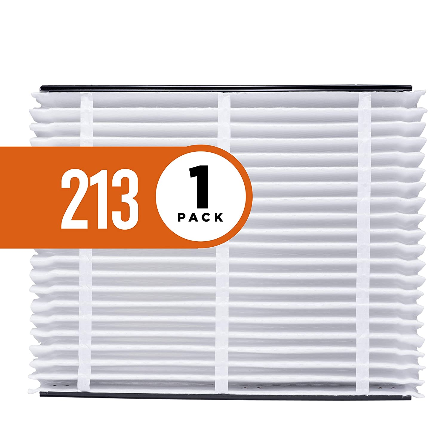 Aprilaire 213 Air Filter for Aprilaire Whole Home Air Purifiers, MERV 13 (Pack of 1) (Renewed)
