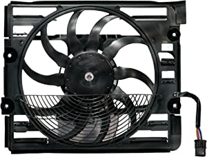 MTC 1796/64-54-8-380-774 Auxiliary Cooling Fan Assembly (64-54-8-380-774 MTC 1796 for BMW Models)
