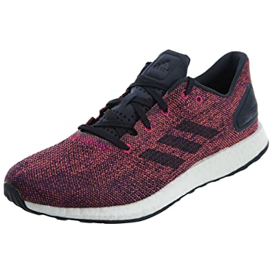 fd96e80659cea adidas Running Mens Pureboost Dpr Ltd Noble Ink Solar Orange 7.5 D US
