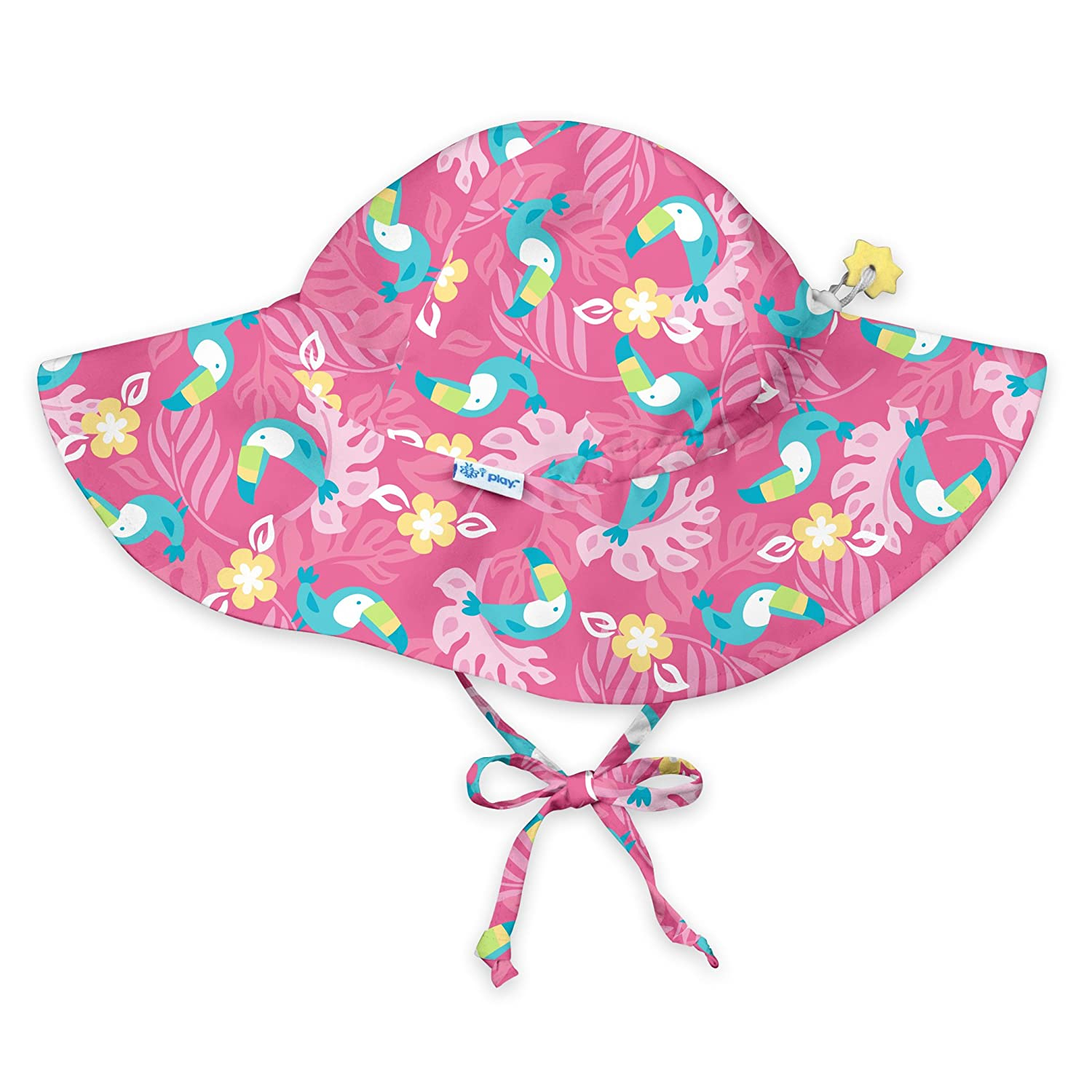 I-Play Baby Girls Brim Sun Protection Hat