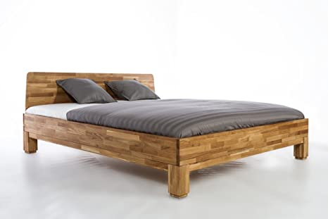 Letto Legno.Roma Bed Oak All Size 140 160 180 200 X 200 Modell Roma Amazon It