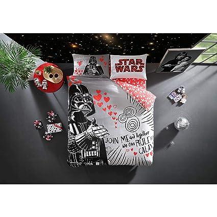 Copripiumino Matrimoniale Star Wars.Ti Home Con Licenza Originale Star Wars San Valentino Set