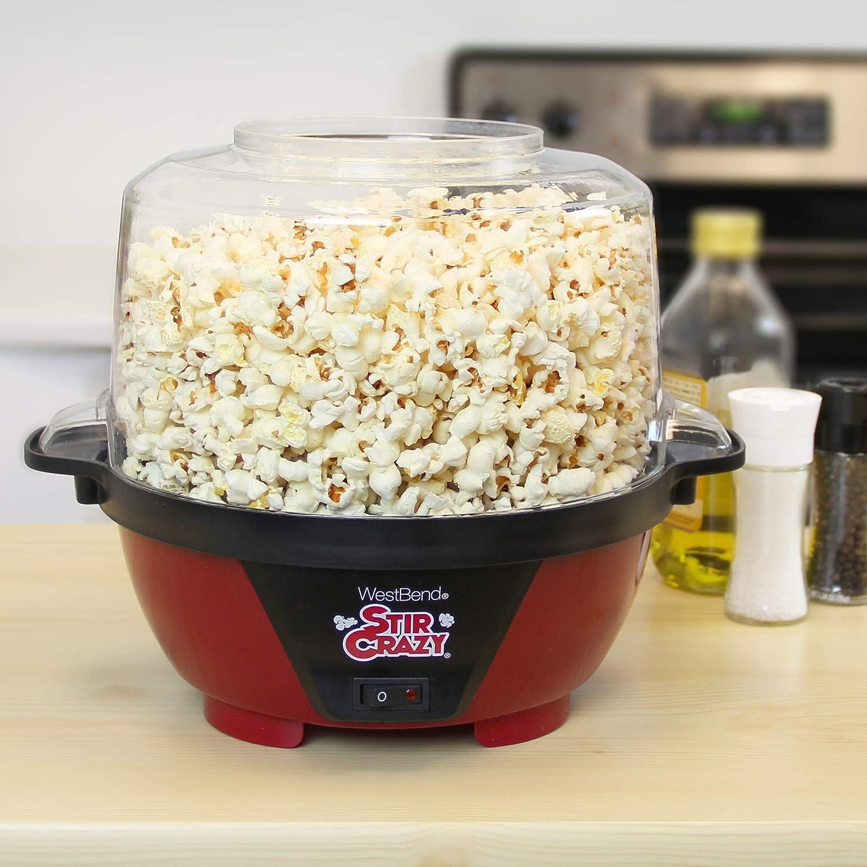 Amazon West Bend 82505 Stir Crazy Electric Hot Oil Popcorn