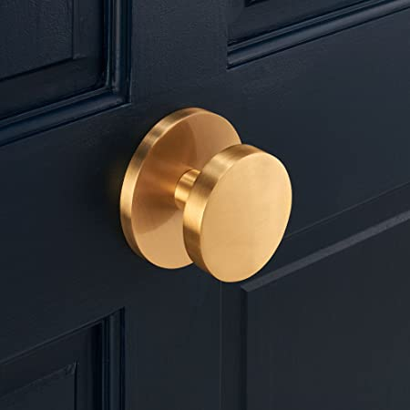 luxury premium contemporary modern large solid brass gold circle
