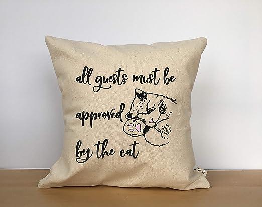 Sa2342Kit - Almohada para Gatos, Gatos, Amantes, Amantes de los ...