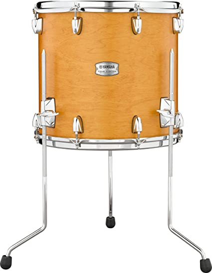 Amazon Com Yamaha Tour Custom Maple 14 X 13 Floor Tom Caramel