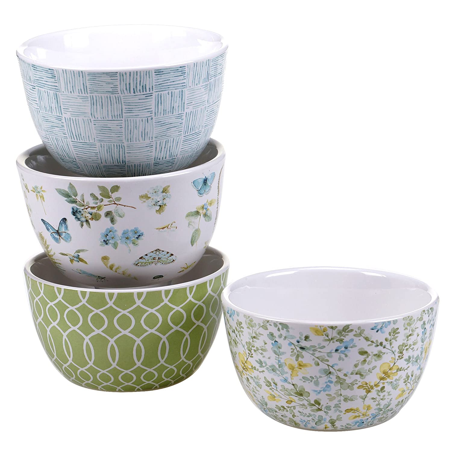 超人気新品 Certified International Ice The Greenhouse マルチカラー Ice B01LXG1C5W Cream Bowls (Set of 4), 5.25', Multicolor [並行輸入品] 5.25\ マルチカラー B01LXG1C5W, ランブル バイ ジーマ:84517bdd --- a0267596.xsph.ru