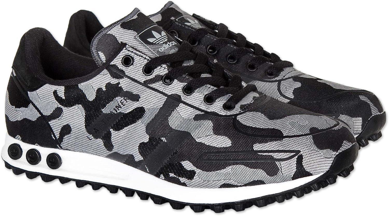 Adidas Scarpe LA Trainer Weave Core Black, 46: Amazon.it