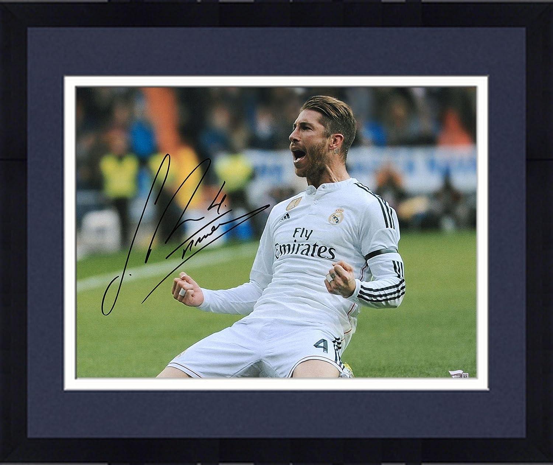 6b6a4dd2a2f Framed Sergio Ramos Real Madrid Autographed 16