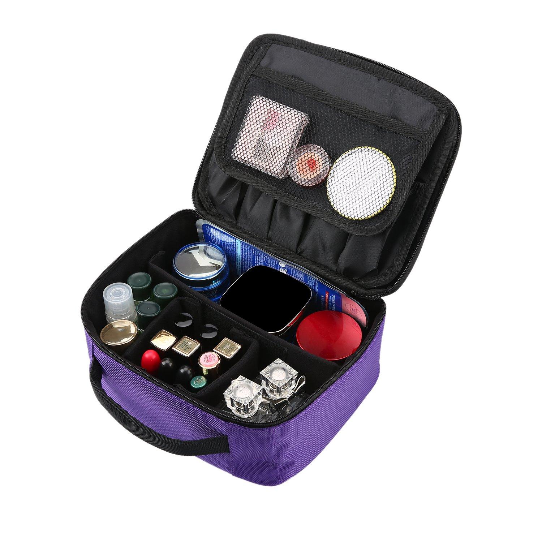 Amazon.com   Travel Makeup Train Case 3b81b9b1472be