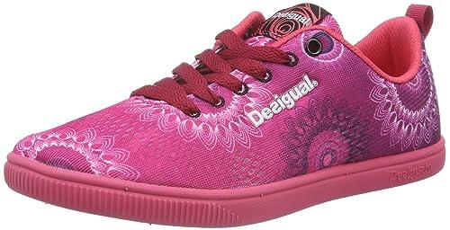 Desigual Shoes_CANDEM B, Zapatillas Deportivas para Interior para Mujer, Rosa (Rose RED3052), 36 EU: Amazon.es: Zapatos y complementos