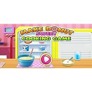 Rosquillas y buñuelos deliciosos - juego de cocina ¡ Sólo donuts deliciosos se hacen en este delicioso juego de cocina!: Amazon.es: Appstore para Android