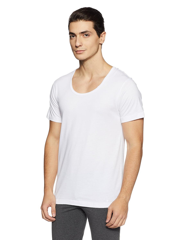 233ae5d6e8a Van Heusen Men s Cotton Half Sleeve Vest  Amazon.in  Clothing   Accessories