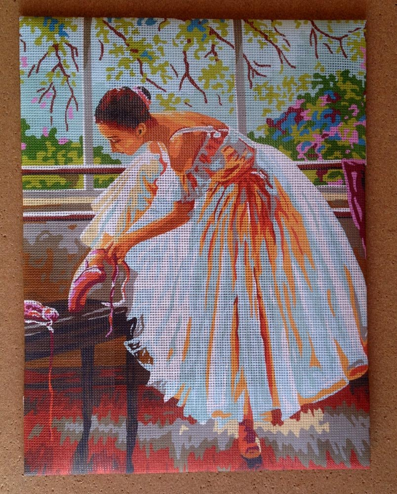 Aidalux Needlepoint Kit Ballerina 19.3