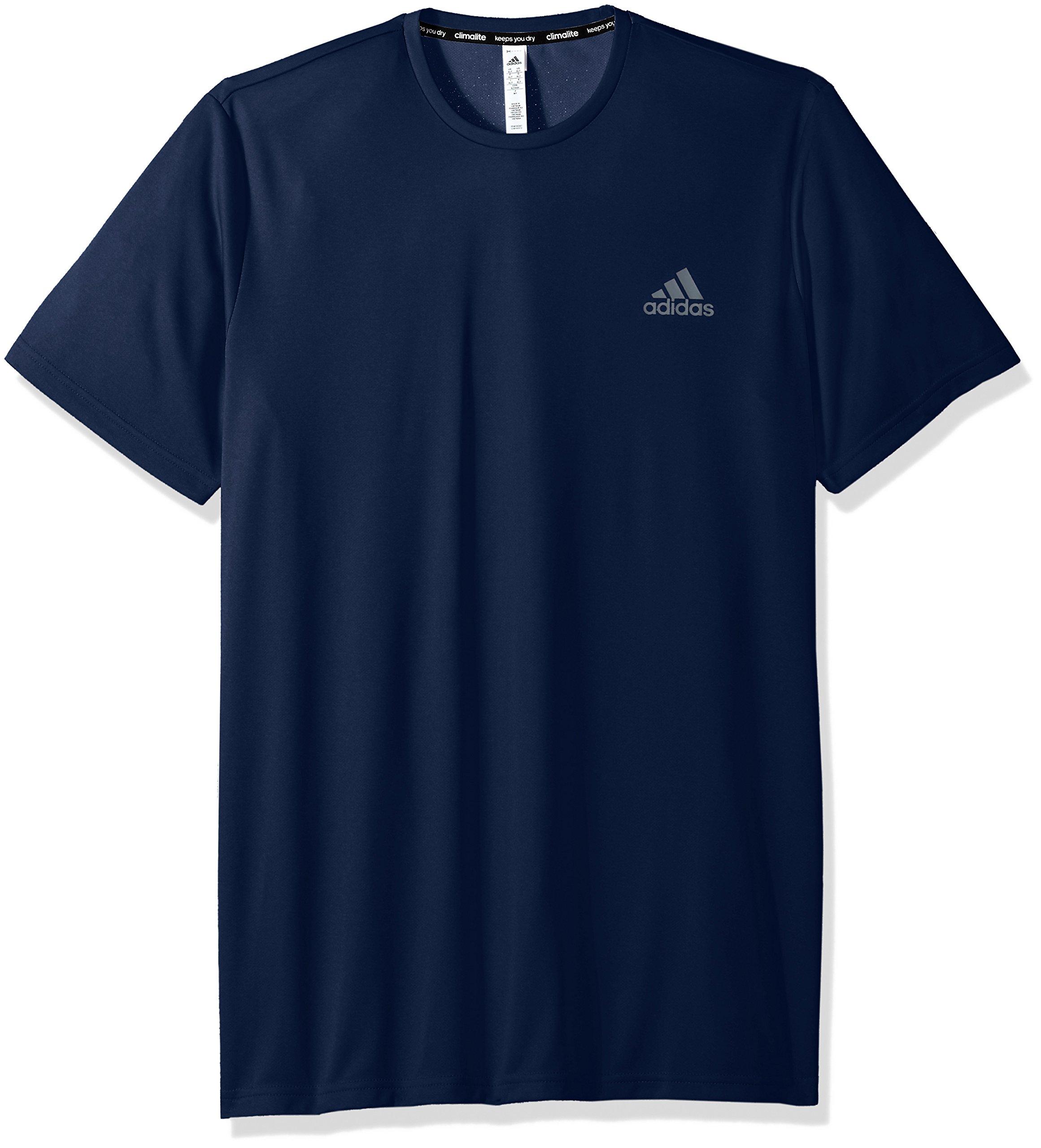 adidas Men's Essentials Tech Big & Tall Tee, Collegiate Navy, 3X-Large Tall