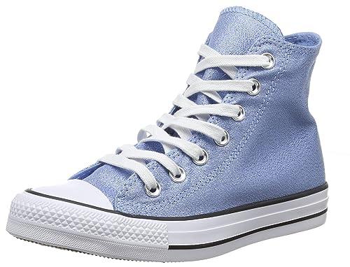 Converse Damen CTAS Hi Light Fitnessschuhe, blau: