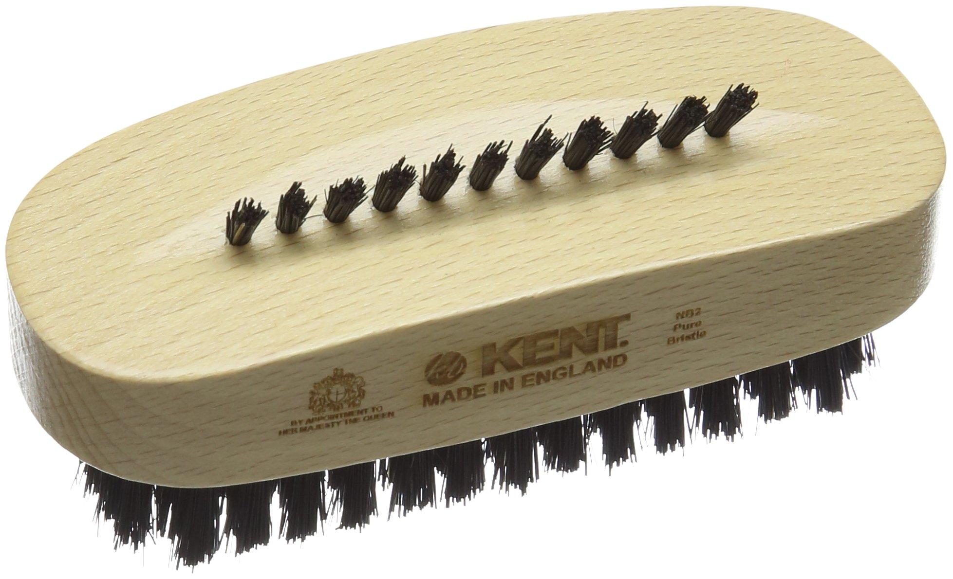 Kent NB2 Beech Wood Nail Brush