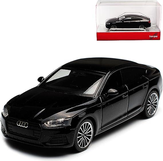 Herpa A U D I A5 Ii Sportback Schwarz 2 Generation Black Edition Ab 2016 H0 1 87 Modell Auto Spielzeug