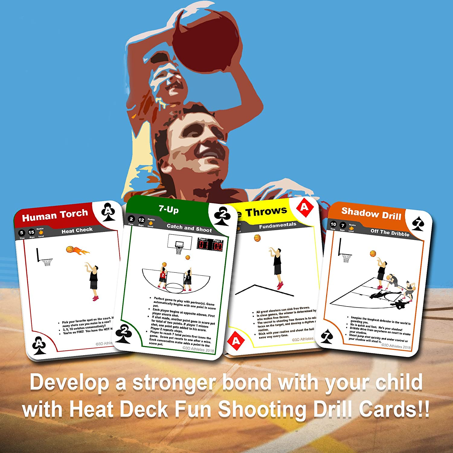 Shot games with cards