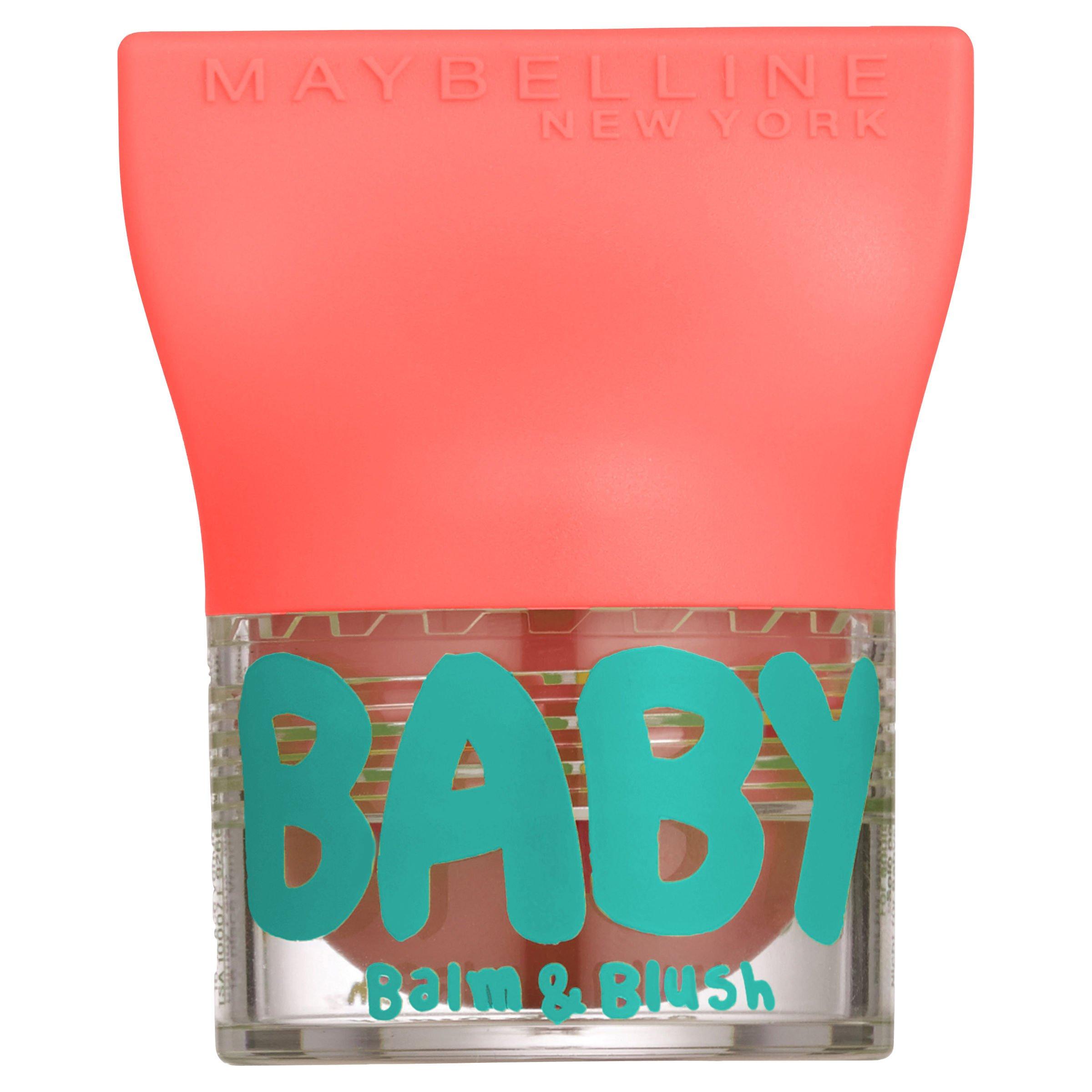 Maybelline New York Bálsamo labial Baby Lips Blam & Blush 1 Innocent Peach product image