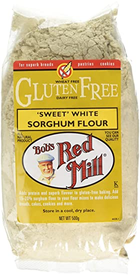 BOB'S RED MILL Gluten Free Sorghum Flour 500g (PACK OF 1)
