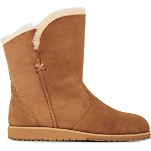 f4f9511baf Amazon.com | EMU Australia Womens Beach Mini Deluxe Wool Boots Size ...
