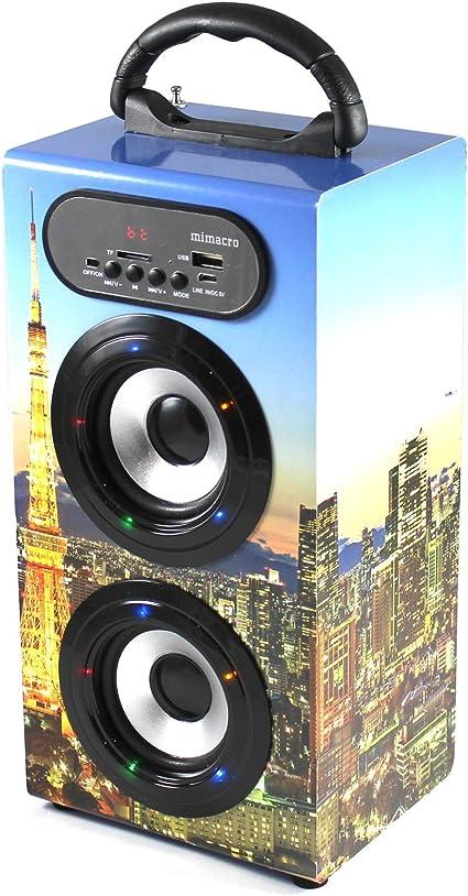 Manos libres altavoz inalámbrico Super Bass Bluetooth estéreo ...