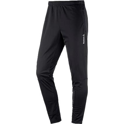 Reebok - Pantalones de chándal, Color - Negro, tamaño XL: Amazon ...