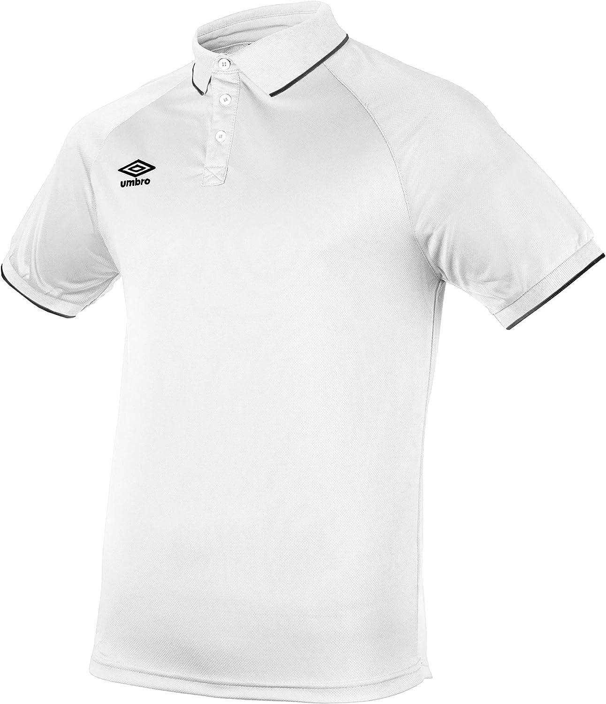 UMBRO Torch Camiseta Polo de Tenis, Hombre: Amazon.es: Ropa y ...