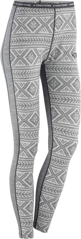 Kari Traa Women's Floke Base Layer Bottoms - Merino Wool Blend Thermal Pants