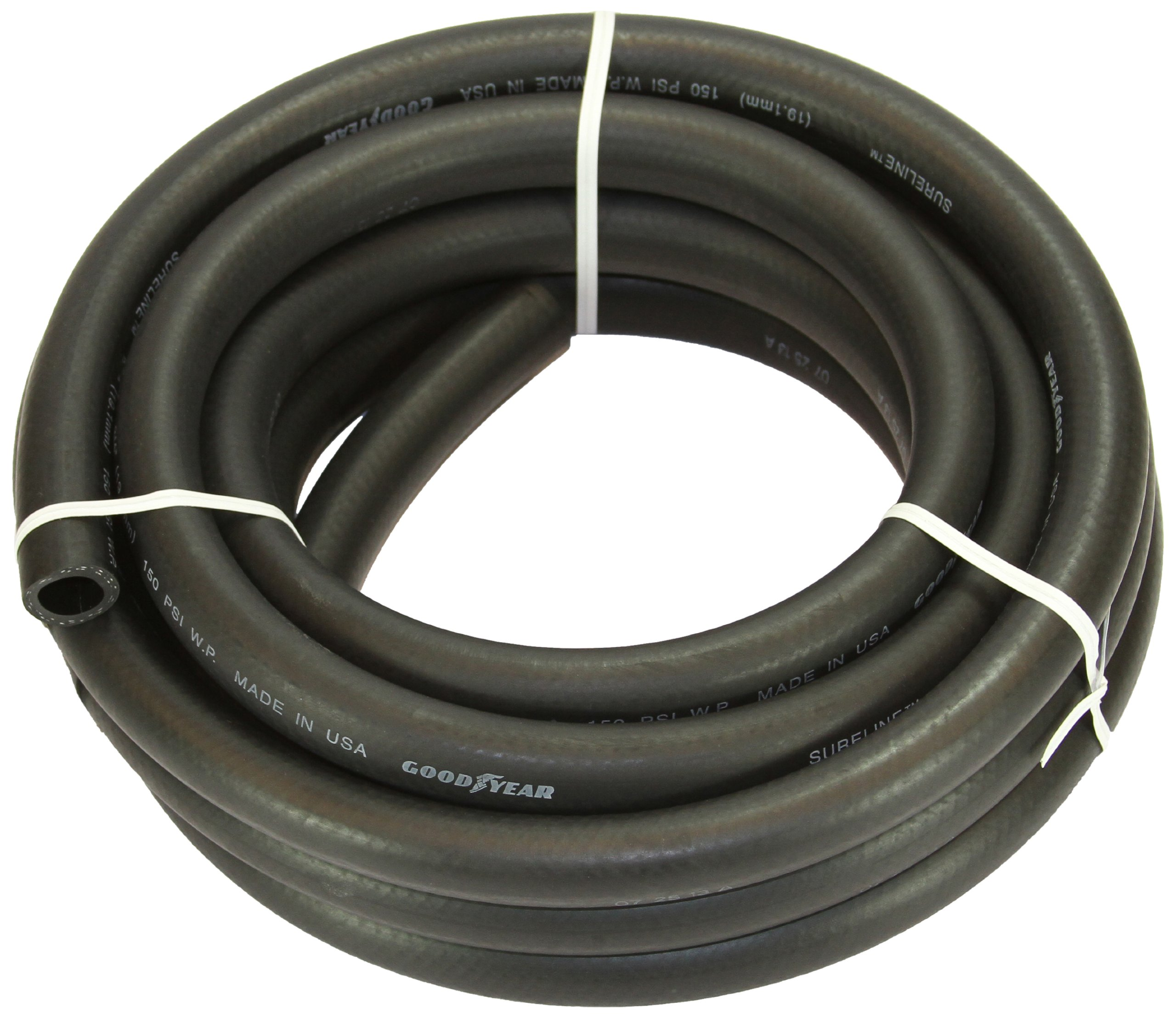 Abbott Rubber X1110-0751-25 EPDM Rubber Agricultural Spray Hose, 3/4-Inch ID by 25-Feet