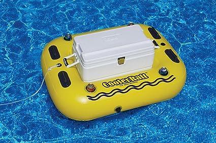 Amazon.com: Swimming Pool Cooler Raft Heavy Duty Tube Float ...