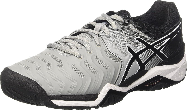 Asics Gel-Resolution 7, Zapatillas de Tenis para Hombre, Gris (Mid ...