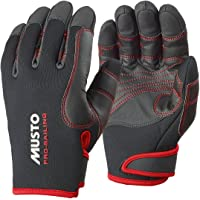 Musto 2016 Performance Winter Long Finger Gloves BLACK