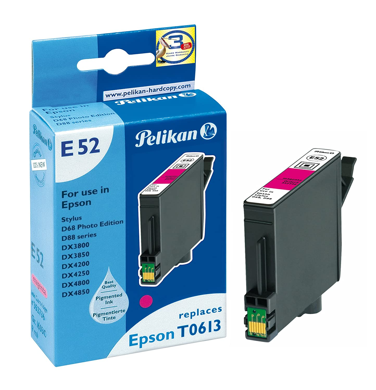 Pelikan 352736 - Cartucho de tinta Epson Stylus D68, D88 - T0613 ...
