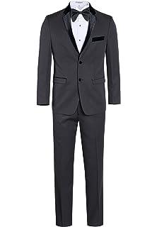 d18db9db526 Braveman Slim Fit Solid Black One Button Tuxedo Tux Suit with Peak Lapels ·  $119.00 - $129.00 · Fine Tuxedo Men's Classic Formal Tuxedo Suit - Ultra  Soft ...
