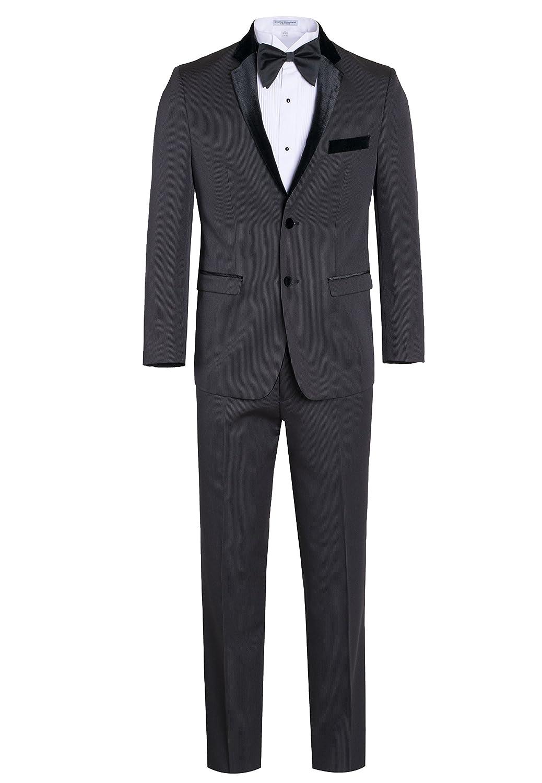 Fine Tuxedo Men's New Fashion - Classic Formal Tuxedo Suit - Ultra Soft Fabric…