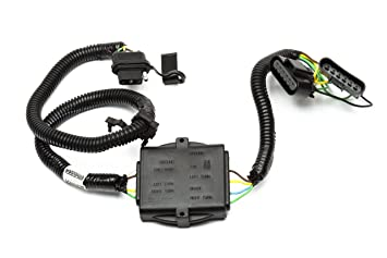 amazon com gm accessories 17801656 trailer wiring harness 4 gm accessories 17801656 trailer wiring harness 4 way flat converter and hardware