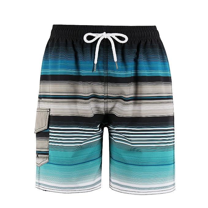 60f4ceee6a34e MILANKERR Big Boys' Swim Trunks Beach Shorts: Amazon.ca: Clothing ...