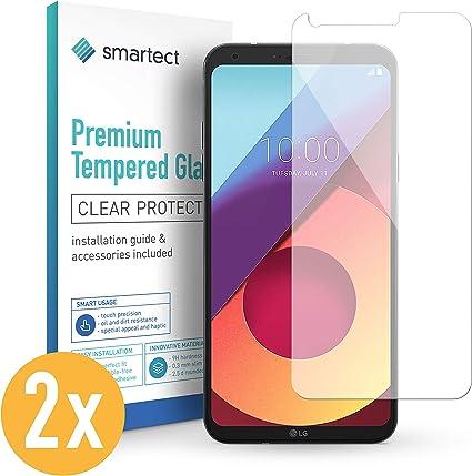 smartect Cristal Templado para Móvil LG Q6 [2 Unidades]: Amazon.es ...