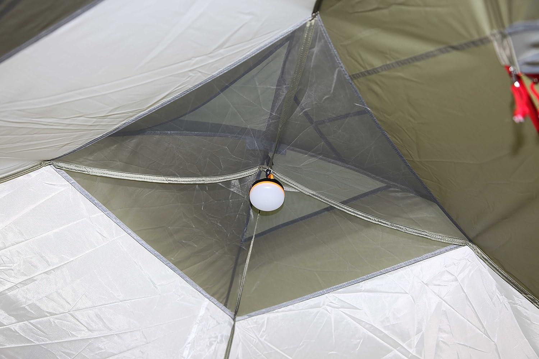 400 x 240 x 150 cm Olive Toscane High Peak 11570 Tente d/ôme Mixte Adulte