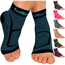 5295359511 ... Ankle Brace Compression Sleeve - Relieves Achilles Tendonitis, Joint  Pain. Plantar Fasciitis. This item:ORTONYX Achilles Tendon Heel Protector  Padded ...