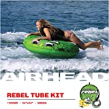 Airhead Rebel Kit | 1 Rider Towable Tube w/Rope