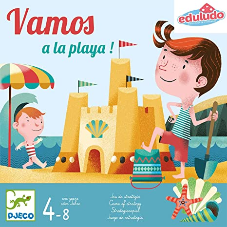 DJECO Juegos de acción y reflejosJuegos de preguntasDJECOJuego Vamos a la Playa, 100