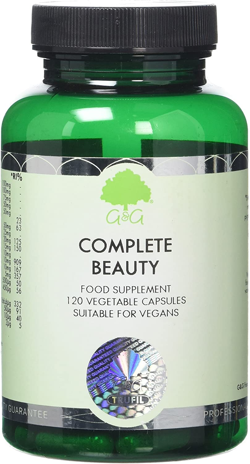 G&G Vitamins Hair Skin and Nails – Beauty Formula 120