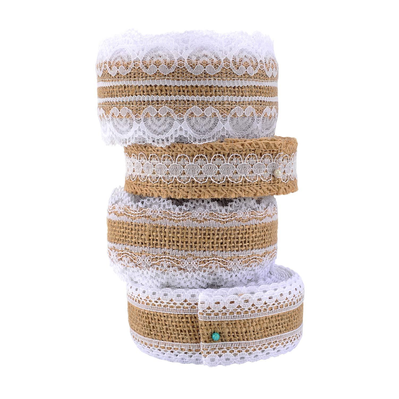 4 different design ribbon rolls